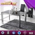 famosa mesa de vidro feito na china mobiliário de estilo moderno