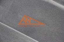 turkey velvet dark gray non-woven velvet bag nylon flock fabric for boxes and pouches