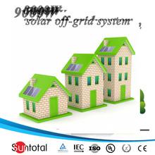 110V -240V 500W kit solar panels