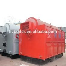 10ton bulk loading soft coal steam boiler