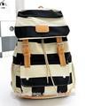 2015 nouveau mode toile adolescent college school sac à dos en nylon sac épaule voyage sac à dos