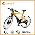"""250w sin cepillo del eje motor de 36v 8ah batería de litio 26"""" bicicleta de montaña eléctrica en15194"""