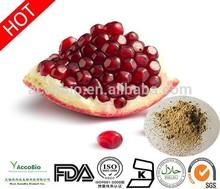 Natural Pomegranate peel extract wholesale/40% Ellagic acid, Pure Pomegranate extract capsules