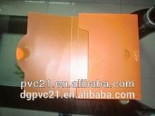 Colorful transparent customized pvc bag pvc tarpaulin bag pvc file bag