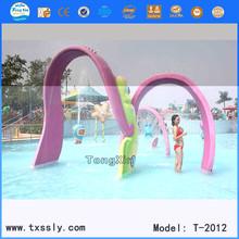 water slide, kid water play, water park equipment