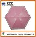 el último diseño de eva de material ligero de bolsillo lápiz 5 paraguas plegable paraguas