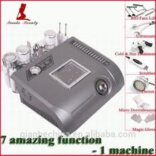Mitifunction 7 in 1 color photon ultrasonic beautiful skin instrument
