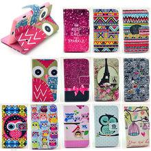 Cartoon wallet leather case cover for nokia lumia 520,case for nokia lumia 520