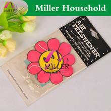 cotton paper card car smell cute fruit gel car air freshener