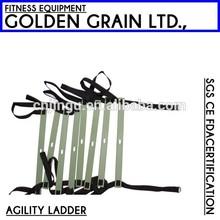 plastic soccer training speed agility ladder/gym fitness agility ladder