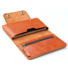 2015 New style leather mobile phone wallet case Hot sale mens wallet Factory supplier of mobile phone wallet case