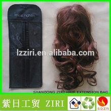 Custom order non woven hair packaging bag