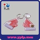 2015 custom and popular acrylic key chains/key rings plastic