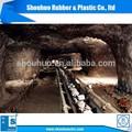 Shouhuo marca utiliza extensamente minería ee tela correa de goma