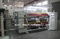 Full automatic high precision high speed plastic film slitting rewinder machine