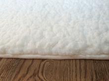 100% polyester coral fleece velvet carpet flooring snow anti-slip mat