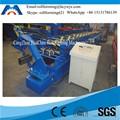 hidráulico de montantes de metal y la pista del rodillo que forma la maquinaria de fabricación