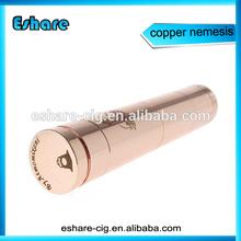 18650 nemesis mod, hot sale copper nemesis mod, vaporizer nemesis mod