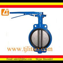 stainless steel long stem butterfly valve