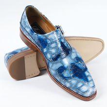 Paislcy 2015Buckle Crocodile Handsome Comfortable Men Casual shoesMonk Strap