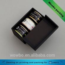 high quality cardbaord Canned Tuna packing box wholesale