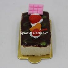 High quality promotional gift idea mini cake fridge magnet/Yiwu sanqi craft factory