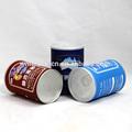 Les emballages alimentaires feuille d'aluminium tube de papier kraft