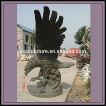 Antique Bronze Eagle Statue, Bronze Eagle Sculpture
