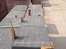 flamed balck sandstone slab for sale