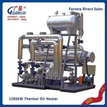 best factory direct sales widely user industrial electrical horizontal conduction oil heater