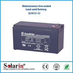 small systerm high power solar dc power system sealed lead acid battery 12v 150ah