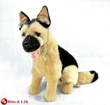 Customized OEM , German Shepherd Alsation plush dog toy/stuffed animal