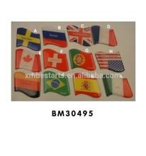 world flags shape fridge magnet promotional gift,souvenir