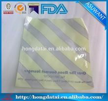 Plastic food bag packaging material for sausage