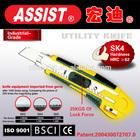 #2015 Assist Special#18mm folding utility knife cutter,box cutter utility knife set