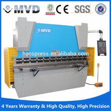 MVD WC67K cnc hydraulic steel press brake hydraulic synchronous press brake