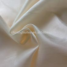 colorful Polyester faux silk slub taffeta fabric for curtain , cushion