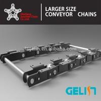 B1000 hangzhou custom design high quality F Type Roller alloy conveyor chain