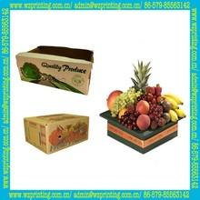 china custom corrugated cherry box productions
