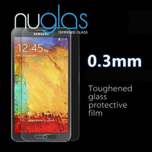 NUGLAS excellent quality tempered glass screen protector for galaxy note 3