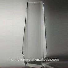 K9 clear blank crystal glass cube DY-JP8009