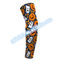 Custom sublimated digital camo arm sleeves with lycra
