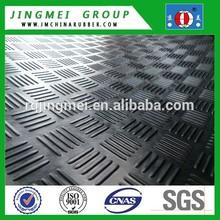 Anti slip checke rubber sheet/rubber mat/rubber rolls