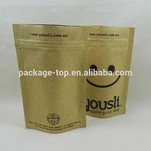 2015 kraft paper bags lined aluminum foil sale