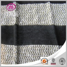 Keqiao High Quality Knitted Hacci Fabric With Metallic Thread For Sweatshirt Factory Made
