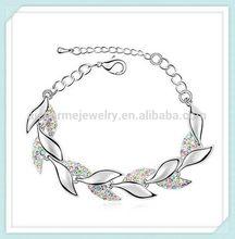 Top grade useful water glass beads magnetic bracelet BN-00115