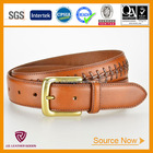 NEW Arrived Handmade Customized Western Leather Braided Belt for Men