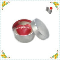 2015 wholesale aroma soy wax candle tin containers