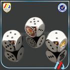 Soft Enamel Metal Poker Dice