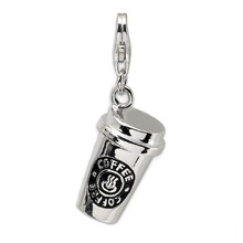 Wholesale For Decorations Newest Fashion 2015 Coffee Cup Charm
